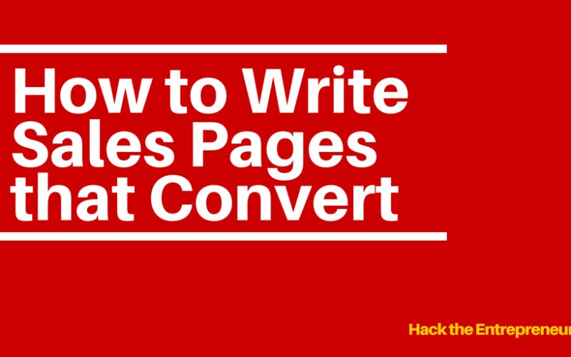 Sales Pages That Convert: An 11-Step Formula to Skyrocket Your Sales