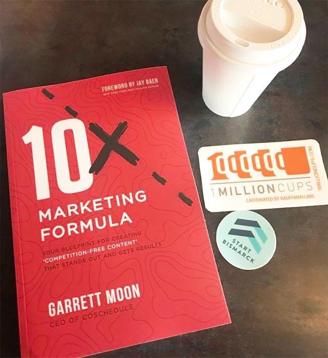 10x Marketing Formula - Your Blueprint for Creating Competition-Free Content That Stands Out and Gets Results by Garrett Moon