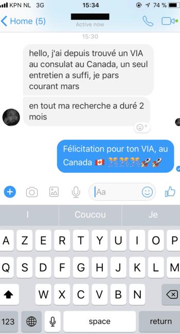 v.i.e Canada