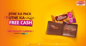 Free Paytm Cash on Britannia Bourbon