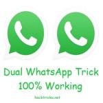 dual whatsapp trick