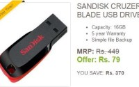 ebay sandisk 16gb pendrive at rs79