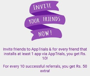 apptrials refer and earn