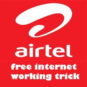 airtel free internet trick