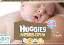 Huggies Newborn Diapers Free Samples
