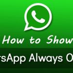 How to Show Whatsapp Always Online (When Screen is Off)