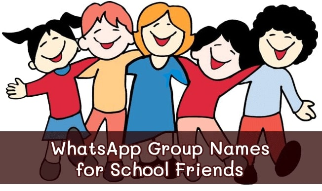 Best Group Names for School Friends