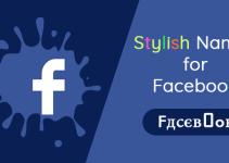 Stylish Facebook Names List