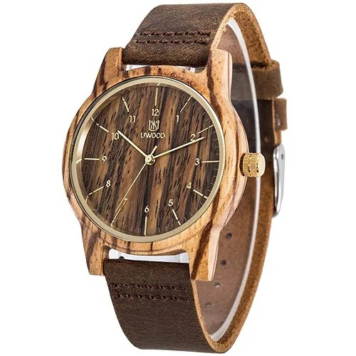 UWOOD W1008A wood watch