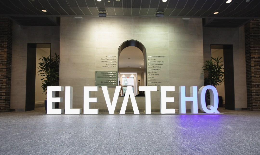 ElevateHQ Sign