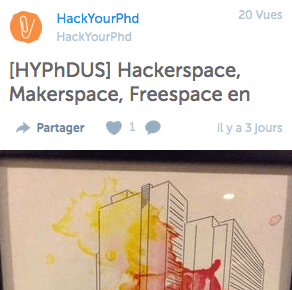 hackyourphd storify