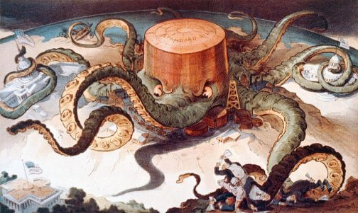 Standard oil octopus loc color Domaine public