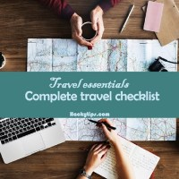 Travel Essentials: Complete travel checklist