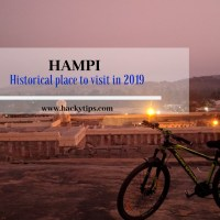 Hampi: A must visit historical place in 2019