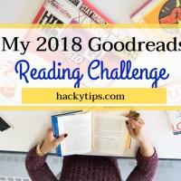 My 2018 Goodreads Reading Challenge