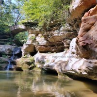 A day in Hocking Hills State Park Ohio
