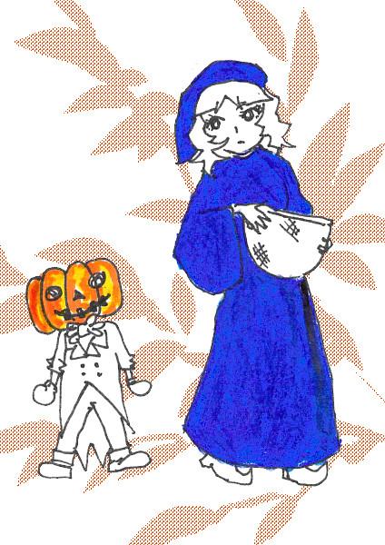 Halloweenかな?