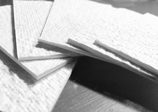 手すき紙(お手製)