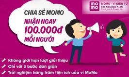 Hướng dẫn chi tiết kiếm tiền với ví điện tử MoMo, Nhận ngay 100.000đ