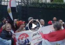 """بالفيديو .. حملة """"مواطن"""" تحتشد مع أبناء الجالية المصرية في اليونان"""