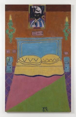 Tal R., Venice Bed, 2015