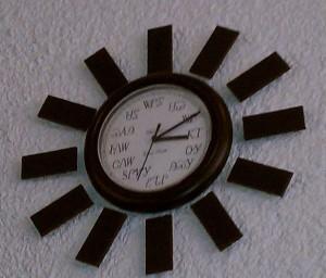 Cherokee clock