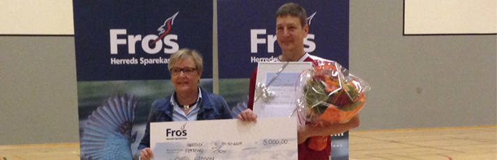 Lederpris 2014 i Haderslev gik til Chris Gibson fra Haderslev Basket Klub
