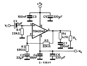 Car Amplifier Tda Mono Board Circuit Pictures