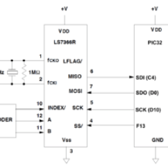 Parallel Circuit Diagram Dodge Ram 2500 Wiring Using The Ls7366r Spi Quadrature Counter - Northwestern Mechatronics Wiki