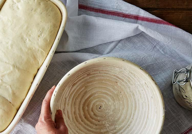 Siyez Unu Ekmeği Tarifi - Ekmkek mayalama sepeti