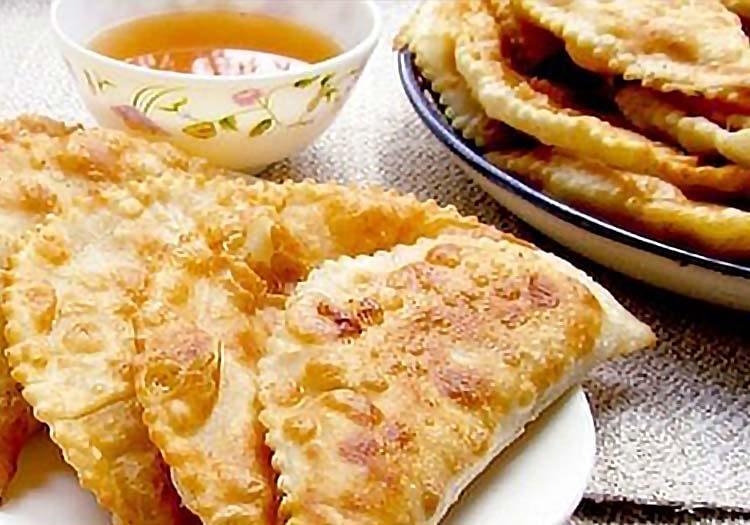 Chebureki Recipe - Fried chebureki pastry