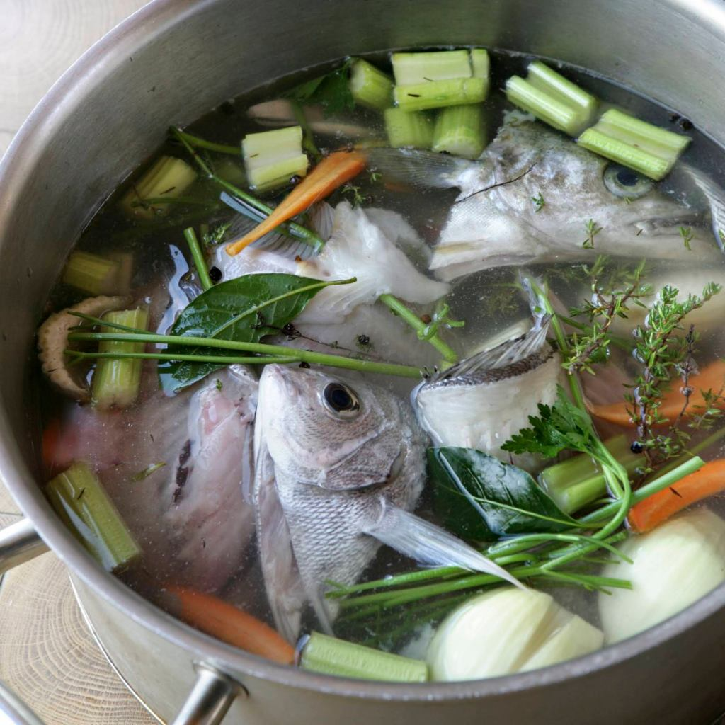 What is Stock in Cooking - Fish Stock (Fume de Poisson)