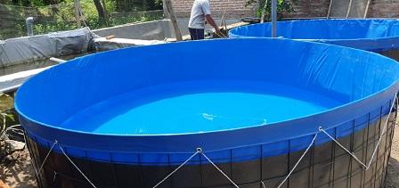 kolam terpal diameter 3