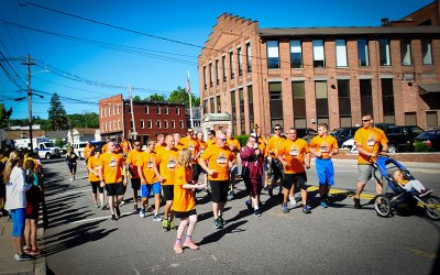 Special Olympics 2016 Torch Run in Butler, NJ