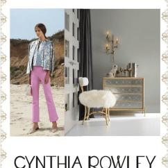 Cynthia Rowley Chairs At Marshalls Big Joe Bean Bag Chair Sneak Peek For Hooker Furniture Fashion Designer