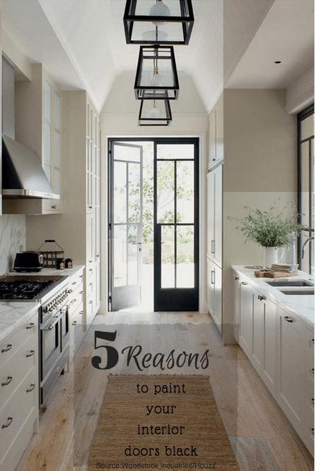 5 reasons to have black interior doors