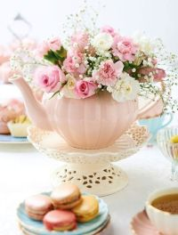 Elegant Tea Party Ideas  Hadley Court - Interior Design Blog