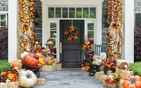 How to decorate a front porch for Fall | Hadley Court