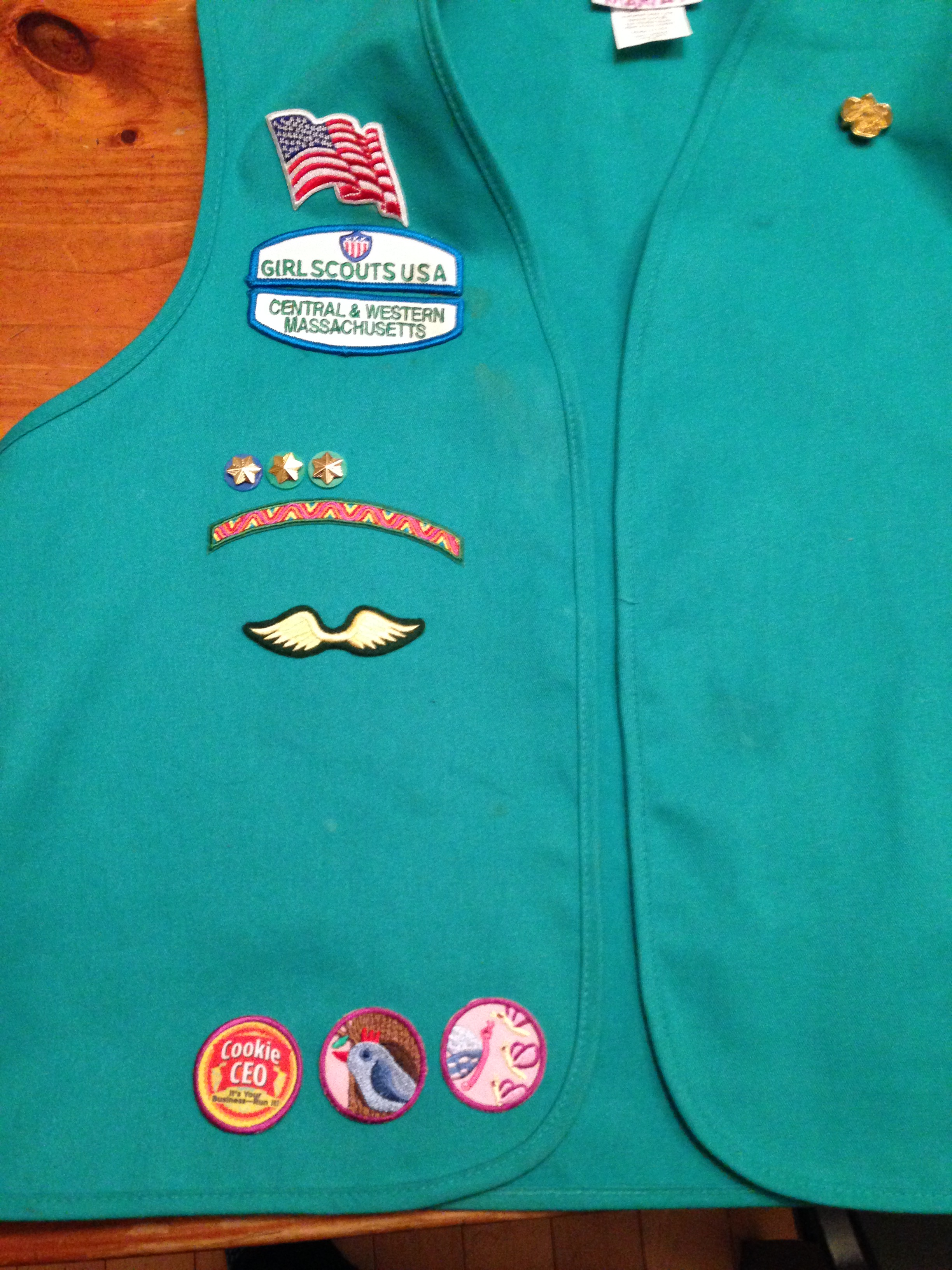 brownie sash diagram how to wire a two way switch girl scout badge placement