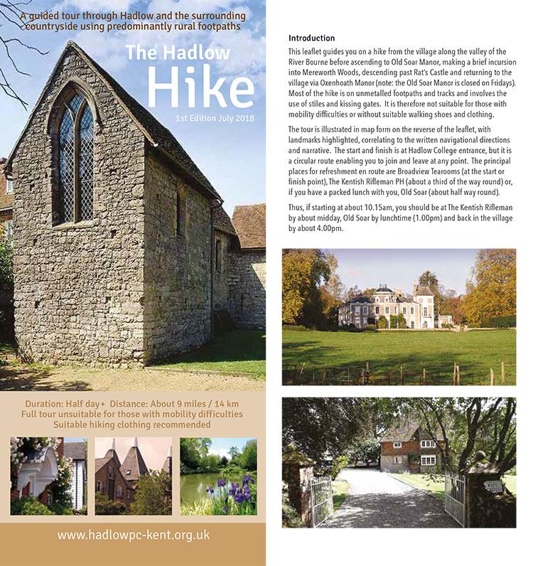 Hadlow Hike leaflet