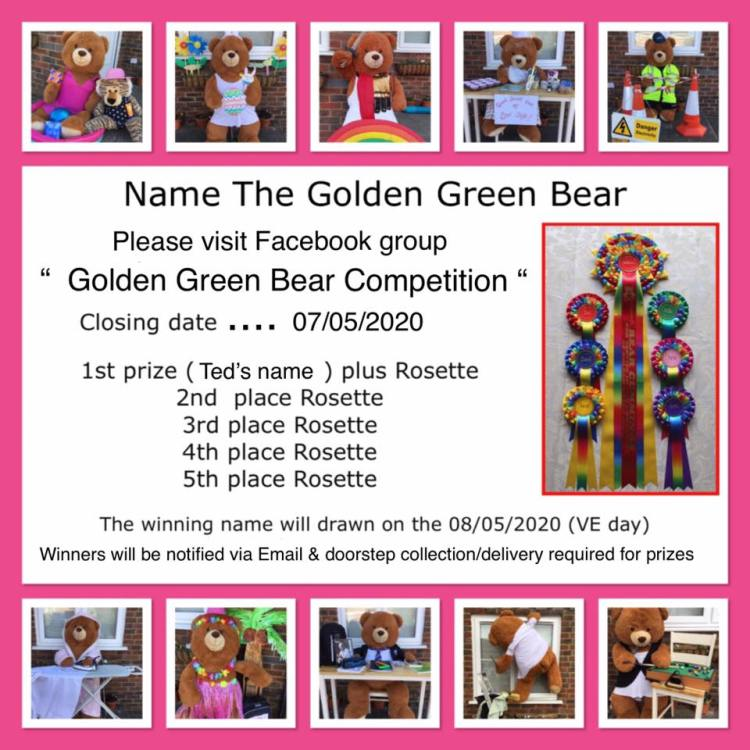 Golden Green bear competition