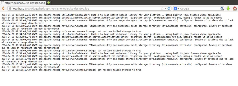 Web UI Logs 2