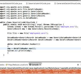 avro datafilereader example Archives - Hadoop Online Tutorials
