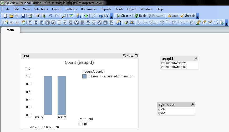 Bar charts in qlikview