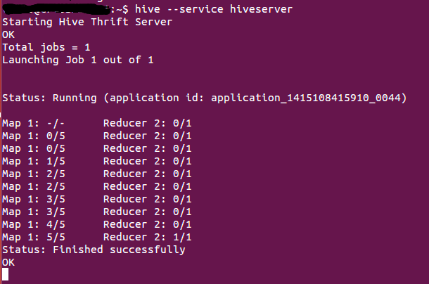 hive query