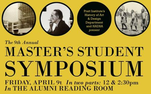 9th Annual Master's Symposium