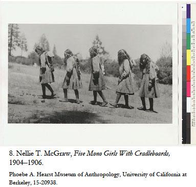 Photograph of Hupa Indians