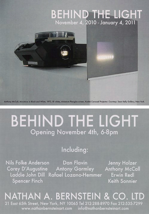 Behind the Light