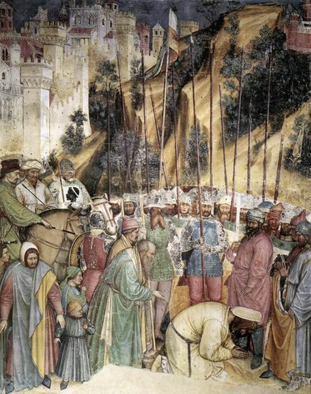 Altichiero Da Zevio The Execution of Saint George