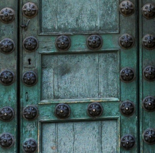The cathedral doors